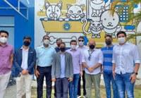 Vereadores do Cabo visitam Hospital Veterinário do Recife